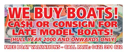 We buy boats! Free boat valuations