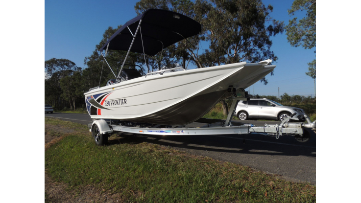 New 2019 Quintrex 530 Frontier With F130 Yamaha Pack 4