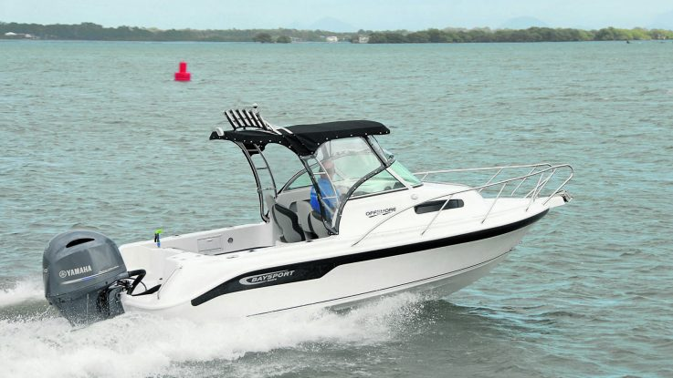 Baysport 600 Offshore review - Queensland Fishing Monthly