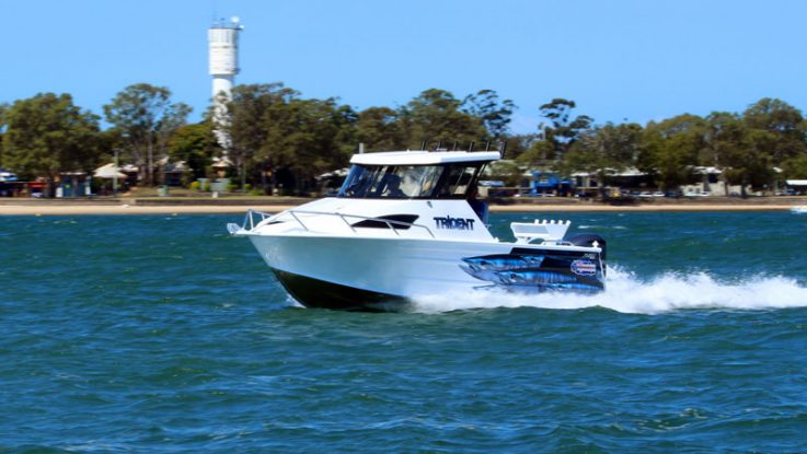 Quintrex Trident 690 Hard Top + Yamaha F225HP 4-stroke water test/boat review